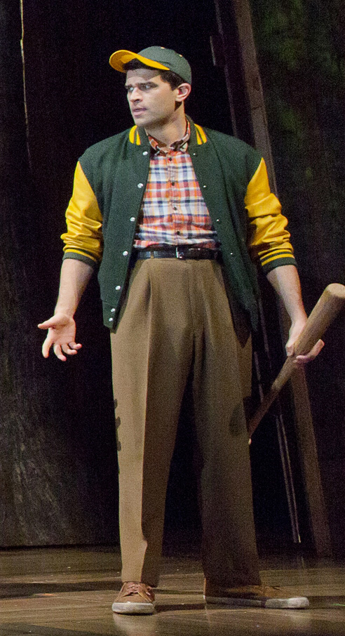 Ben Crawford played Don Price in Big Fish on Broadway, but he also understudied the role of Edward Bloom, normally played by Norbert Leo Butz.