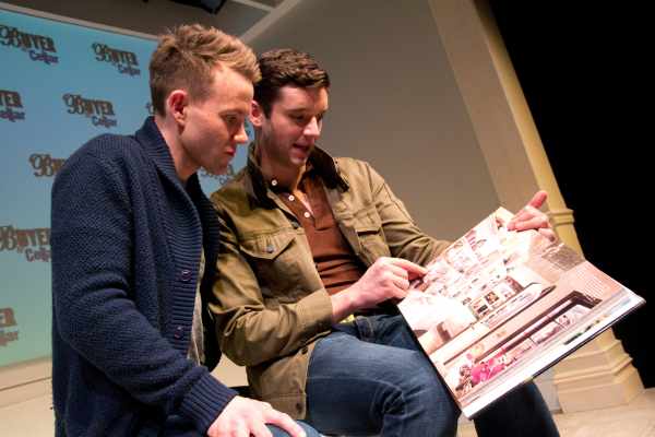 Michael Urie reads to Christopher J. Hanke from My Passion for Design.