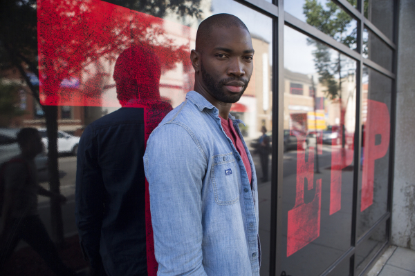 "Tarell Alvin McCraney (pictured) will participate in a Public Theater ""Artists Exchange"" event on March 8 along with Kwame Kwei-Armah."