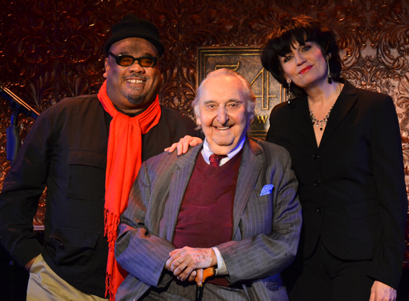 Stew, Fyvush Finkel, and Beth Leavel are upcoming performers at Broadway nightclub 54 Below.