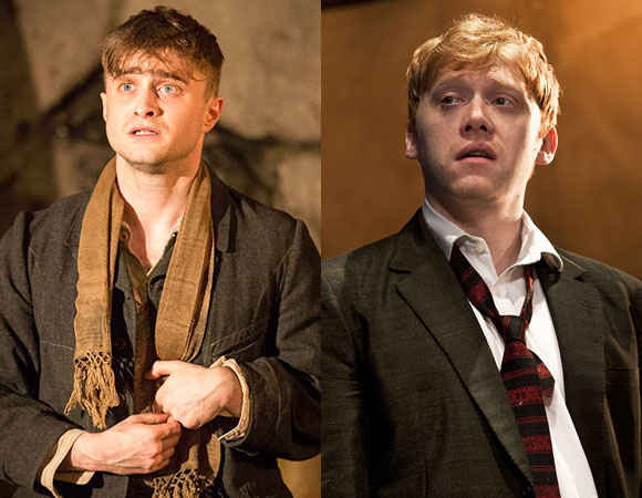 Daniel Radcliffe and Rupert Grint win WhatsOnStage Awards.