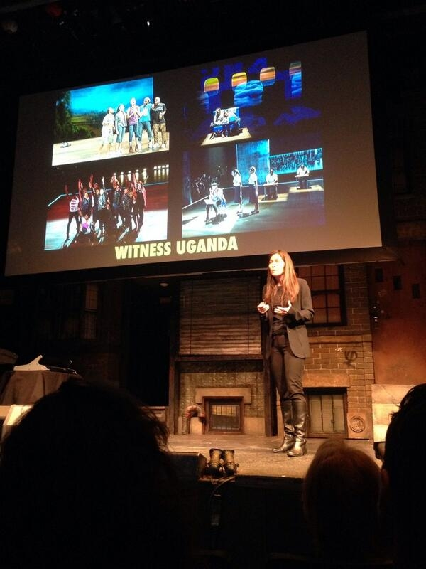 Diane Paulus introduces the American Repertory Theater's newest musical Witness Uganda.