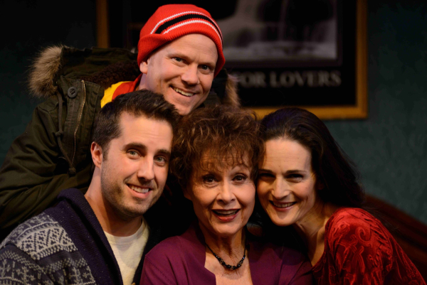 Charlotte Cohn, Carol Lawrence, Jonathan Sale and Sheffield Chastain star in Handle With Care, directed by Karen Carpenter at off-Broadway's Westside Theatre.