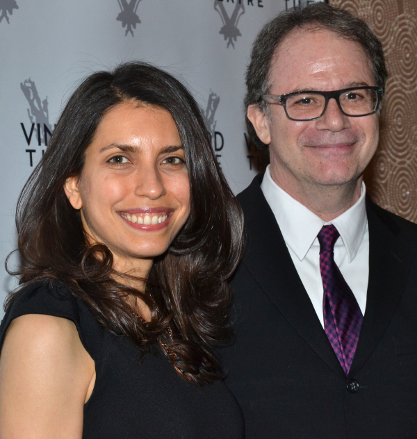 Vineyard Theatre co-artistic directors Sarah Stern and Douglas Aibel donate their skill and services as part of the off-Broadway company's annual online auction.