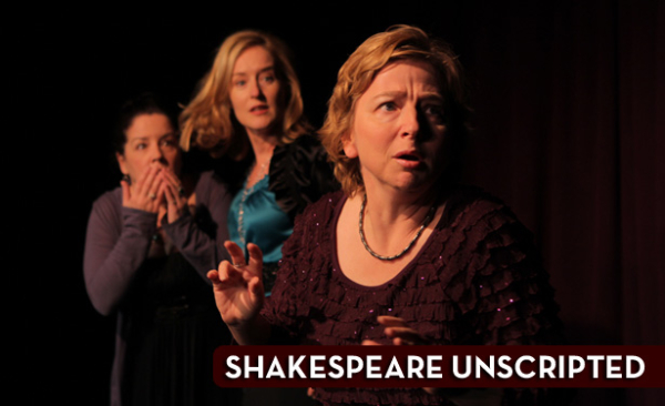 Shakespeare UnScripted begins preview performances upstairs at Pasadena Playhouse on March 20.