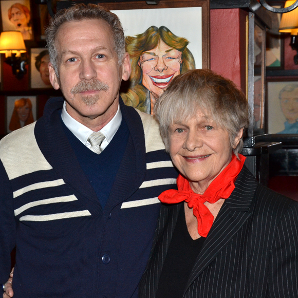 Stephen Spinella and Estelle Parsons play members of a long-estranged family in Eric Coble's The Velocity of Autumn.