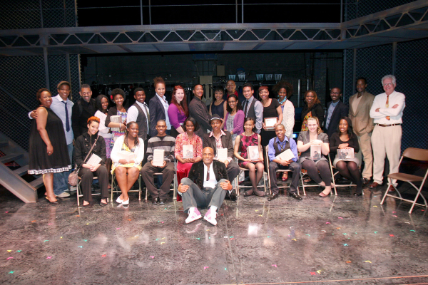 Contestants from the 2011 August Wilson Monologue Competition.