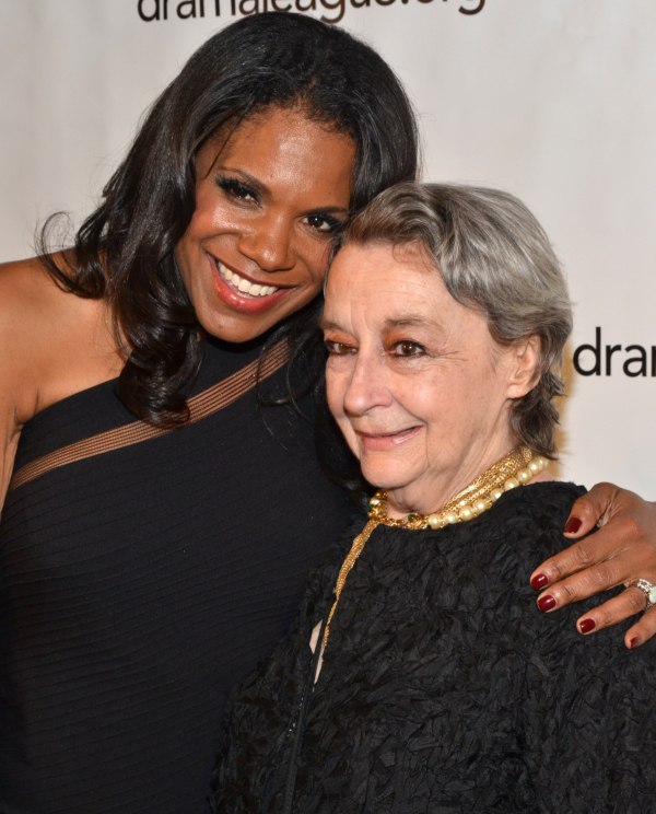 Audra McDonald will present her Master Class costar Zoe Caldwell with a Lifetime Achievement Award at the League of Professional Theatre Women's annual gala on March 10.