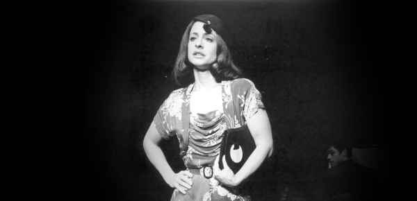 Patti LuPone in the 1982 production of Marc Blitzstein's The Cradle Will Rock, directed by John Houseman.