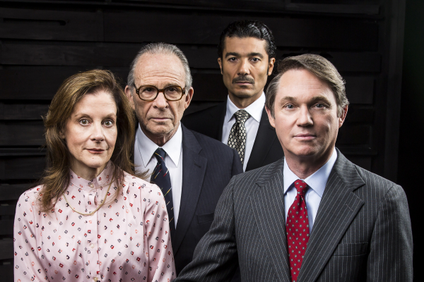 Hallie Foote, Ron Rifkin, Khaled Nabawy, and Richard Thomas make up the full cast of Camp David by Lawrence Wright.
