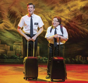 Gavin Creel and Jared Gertner go head-to-head in the 2014 Olivier Awards category of Best Actor in a Musical for their performances in The Book of Mormon.