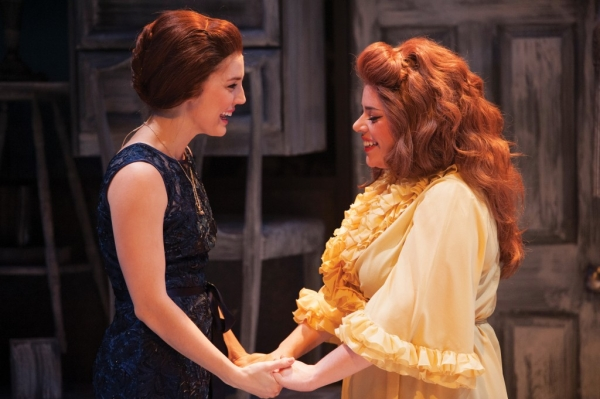 Mara Davi (left) as Bertie and Alysha Umphress as Cee Cee in the musical Beaches, directed by Eric Schaeffer at Virginia's Signature Theatre.