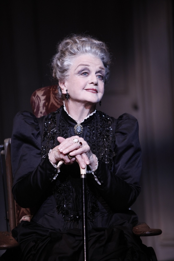 Angela Lansbury as Madame Armfeldt in the 2009 Broadway revival of A Little Night Music, directed by Trevor Nunn, at the Walter Kerr Theatre.
