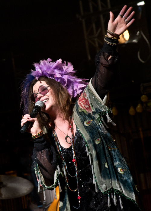 Mary Bridget Davies will return to the title role in A Night With Janis Joplin at the Gramercy Theatre this April.