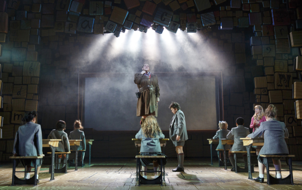 The Broadway production of Matilda will welcome 360 New York City public school children and allow them to see their work performed by the musical's cast members.