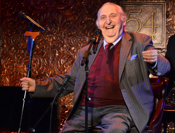 Fyvush Finkel took the stage of 54 Below on March 14 and 15 to perform songs from his illustrious career in theater.