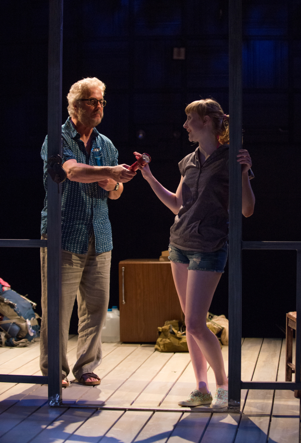 William Petersen as Sterling and Rae Gray his niece Becky in the West Coast premiere of Greg Pierce's Slowgirl at the Geffen Playhouse.