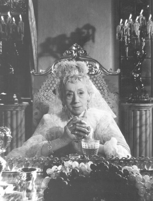 Naima Wifstrand as Madame Armfeldt in Ingmar Bergman's 1955 film Smiles of a Summer Night, the basis for the musical A Little Night Music.