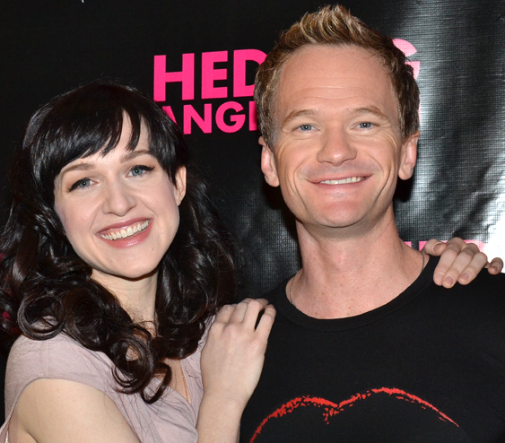 Neil Patrick Harris and Lena Hall star in the Broadway premiere of Hedwig and the Angry Inch, directed by Michael Mayer, at the Belasco Theatre.