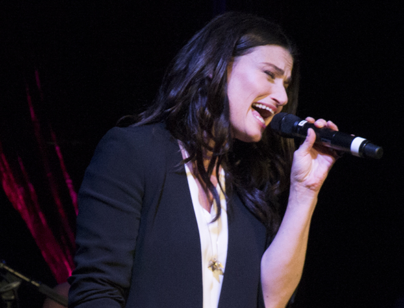 Idina Menzel leads the cast of the new Tom Kitt/Brian Yorkey musical If/Then, directed by Michael Greif, at the Richard Rodgers Theatre.
