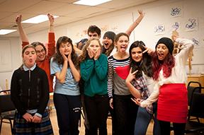 Students participate in the 14th Street Y's Teen Theater programs.