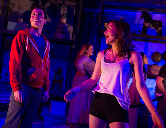Matt Doyle and Allison Scagliotti lead the cast of Jasper in Deadland, a new musical by Ryan Scott Oliver and Hunter Foster.
