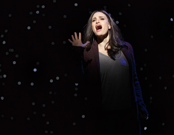 "Tony winner Idina Menzel plays the dual roles of ""Liz"" and ""Beth"" in Tom Kitt and Brian Yorkey's If/Then."