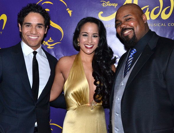 Aladdin stars Adam Jacobs, Courtney Reed, and James Monroe Iglehart will be featured vocalists on the musical's upcoming Broadway cast recording.