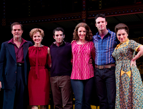 Beautiful principal cast members Jeb Brown, Anika Larsen, Jarrod Spector, Jessie Mueller, Jake Epstein, and Liz Larsen will donate their time for a special benefit performance on April 27.