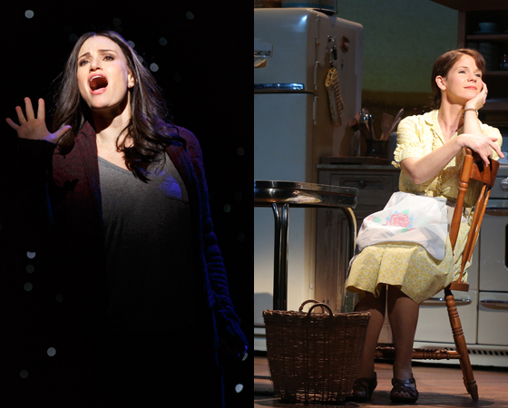 Idina Menzel, Kelli O'Hara, and more Broadway talents are lighting up Broadway this season.