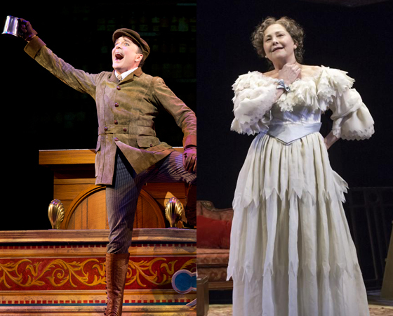 Theater stars like Jefferson Mays and Cherry Jones pave the way for the next generation of big Broadway names.