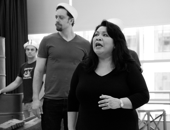 Loretta Ables Sayre will reprise her Tony-nominated performance as Bloody Mary in the Paper Mill Playhouse production of South Pacific, directed by Rob Ruggiero.