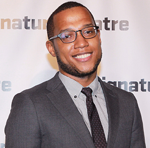 Branden Jacobs-Jenkins will make his Vineyard main stage debut in spring 2015 with Gloria; or Ambition.