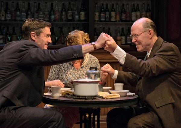 A scene from Bill W. and Dr. Bob, directed by Seth Gordon, at the SoHo Playhouse.