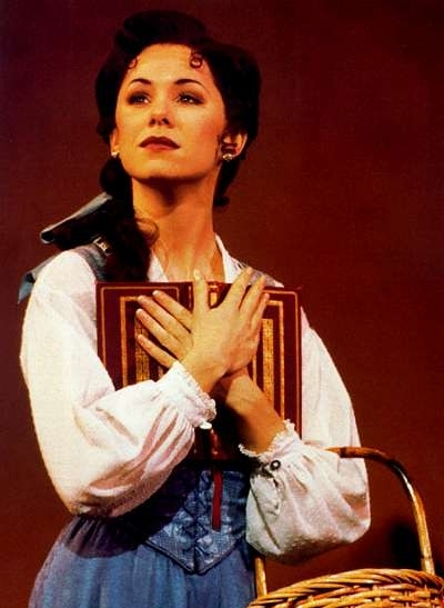 Susan Egan as Belle in the original Broadway production of Beauty and the Beast.