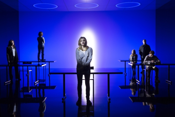 Chloë Grace Moretz leads the cast of Scott Z. Burns' The Library, directed by Steven Soderbergh, at The Public Theater.