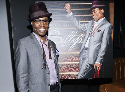 Billy Porter's new album, Billy's Back on Broadway, was released on April 15.