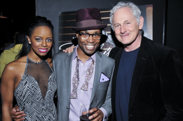 Billy Porter celebrates the release of his new album with Krystal Joy Brown and Victor Garber.