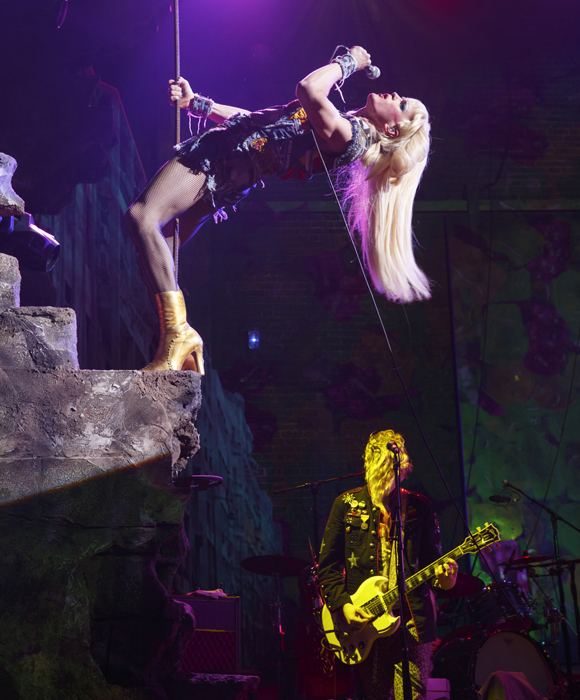Neil Patrick Harris as Hedwig in Hedwig in the Angry Inch.