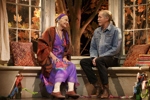 Estelle Parsons and Stephen Spinella star in Eric Coble's The Velocity of Autumn, directed by Molly Smith, at the Booth Theatre.
