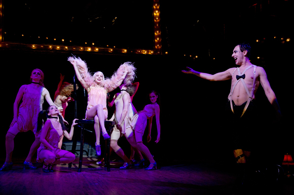 Michelle Williams and Alan Cumming star in the return engagement of Cabaret, directed by Rob Marshall and Sam Mendes, at Studio 54.