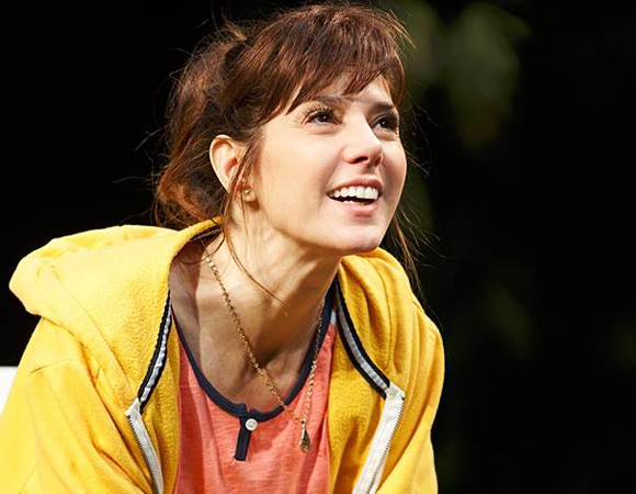 Marisa Tomei as Pony Jones in Will Eno's The Realistic Joneses, directed by Sam Gold, at Broadway's Lyceum Theatre.