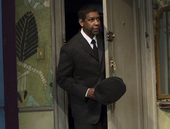 Denzel Washington in A Raisin in the Sun, directed by Kenny Leon, at the Barrymore Theatre on Broadway.