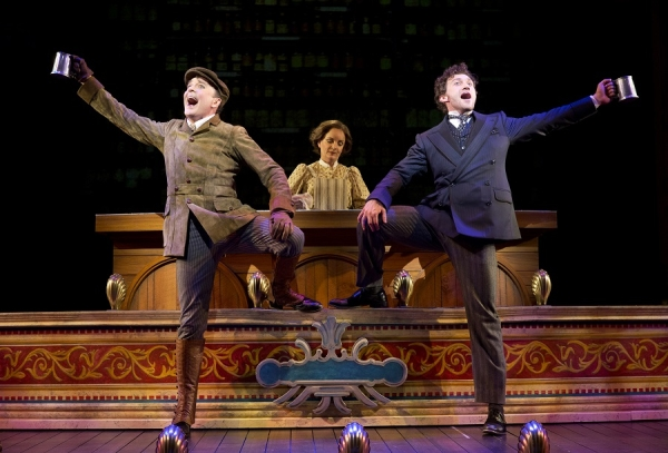 Drama Desk Award nominees Jefferson Mays and Bryce Pinkham star in Broadway's A Gentleman's Guide to Love and Murder.