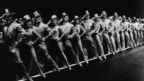The 1980 Broadway cast of A Chorus Line.