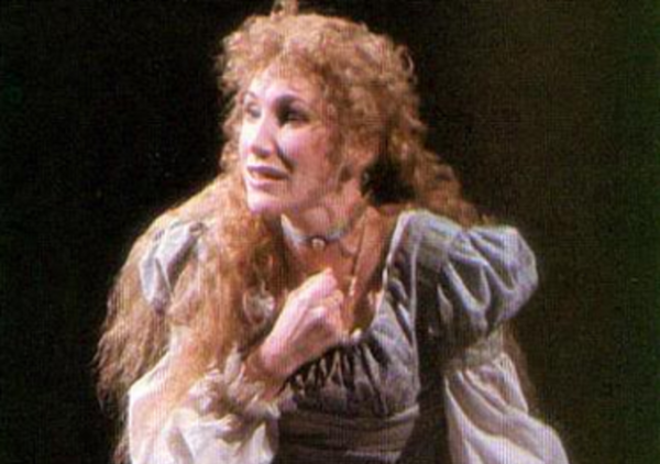 Randy Graff as Fantine in the original Broadway production of Les Misérables.