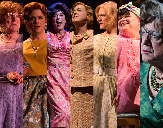 All seven men in Harvey Fierstein's Casa Valentina are important to the production and deserve recognition for their work.