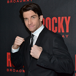 Andy Karl receives his first Tony nomination for playing the title role in Rocky.