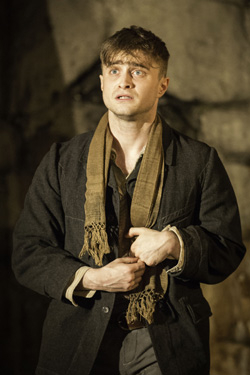 Daniel Radcliffe was not nominated for a Tony for his performance in The Cripple of Inishmaan.