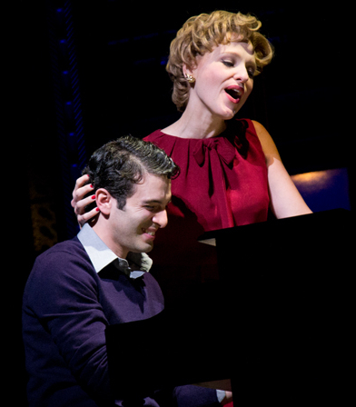 Jarrod Spector and Anika Larsen are first-time Tony Award nominees for Beautiful — The Carole King Musical.